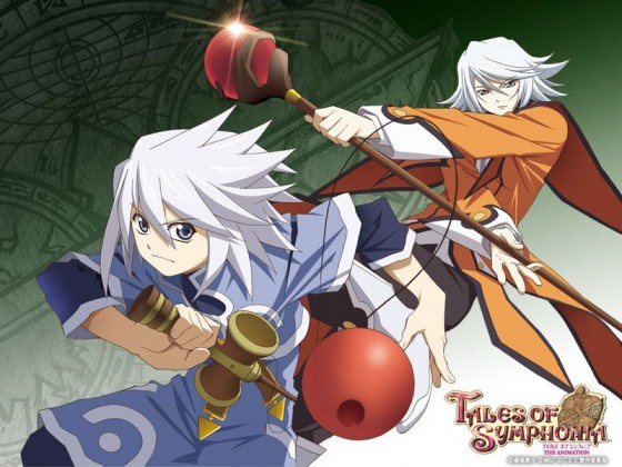 Wallpaper Tales of Symphonia The Animation