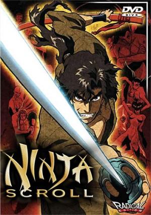 dvd Juubee Ninpuuchou  Ninja Scroll