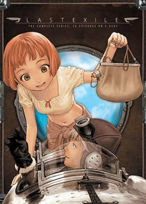 dvd Last Exile