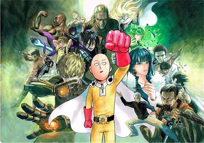 6 Anime Similares a OPM