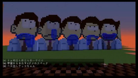 osomatsu-san-op-minecraft-560x318 The Minecraft Version of Osomatsu-san's Opening is Perfect, Check It Out!