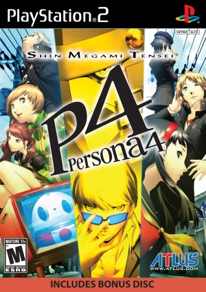 persona 4 game cover