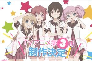 yuru-yuri-san-hai-500x281 Overall Popularity Rankings for Fall 2015 Anime [Japan Poll]