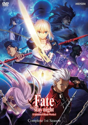 Fate stay night Unlimited Blade Works dvd