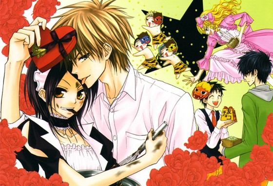 Kaichou wa Maid-sama wallpaper 2