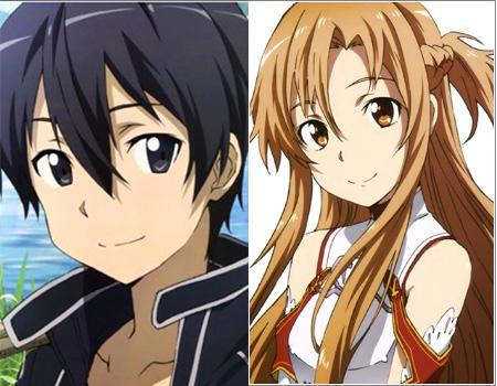 Kazuto-Kirigaya-&-Asuna-Yuuki-(Sword-Art-Online)