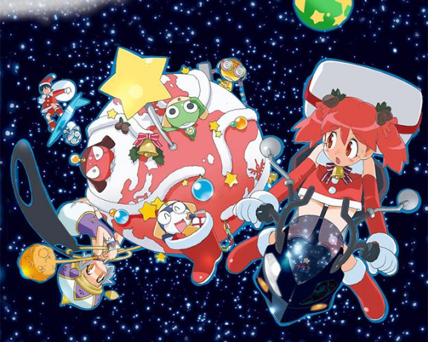 keroro gunso wallpaper 625x500 top 10 merry christmas scenes in anime updated