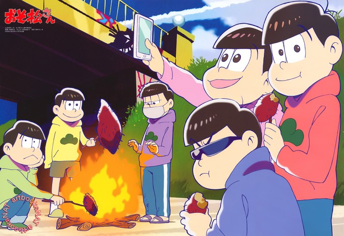 Osomatsu-san-Wallpaper-700x480 Top 10 Very Random Anime [Best Recommendations]