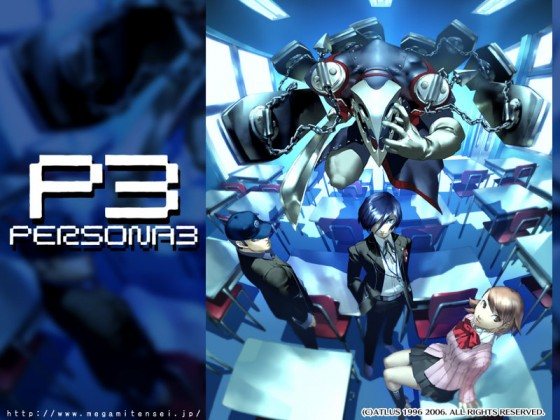 Shin Megami Tensei Persona3 game wallpaper