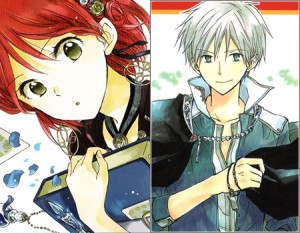 Shirayuki-&-Zen-Wistalia-Clarines-(Akagami-no-Shirayuki-himeSnow-White-with-the-Red-Hair)