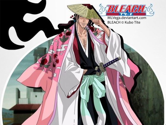 Shunsui Kyouraku bleach Wallpaper