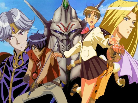 Tenkuu no Escaflowne wallpaper