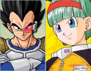 Vegeta-&-Bulma-(Dragon-Ball-Z)