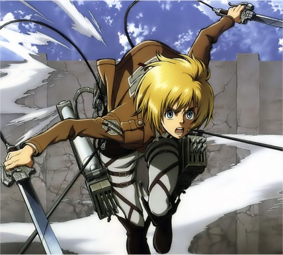 attack on titan armin arlert wallpaper