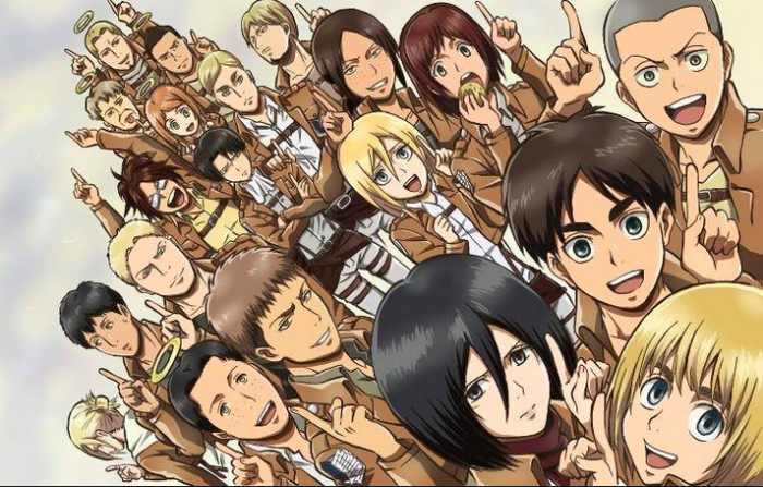 Scout bags for school - Attack On Titan Characters Names Top 10 Coolest Attack On Titan