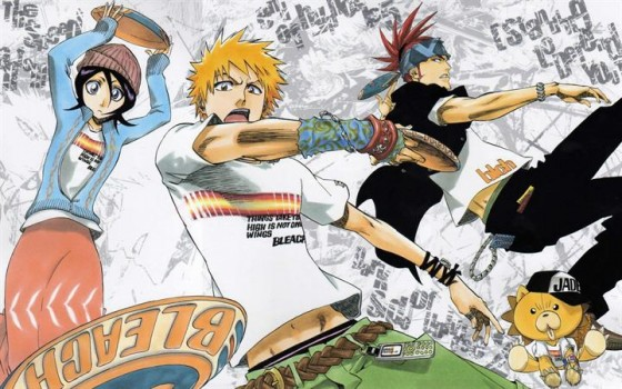 bleach-wallpaper-560x350 What's Tite Kubo's Favourite Manga? (No, it's not Bleach!)