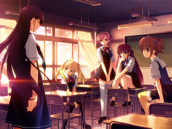 grisaia-no-kajitsurakuen-wallpaper-666x500 Top 10 School Anime 2015 [Best Recommendations]