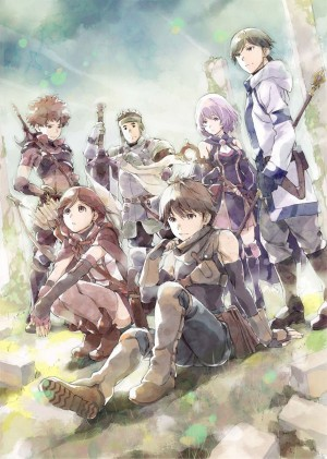 hai to gensou no grimgar-key visual