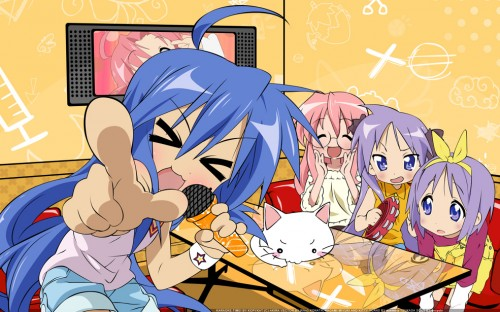 lucky-star-karaoke-500x312 Top 10 Anime OPs That'll Destroy Your Throat at Karaoke [Japan Ranking]