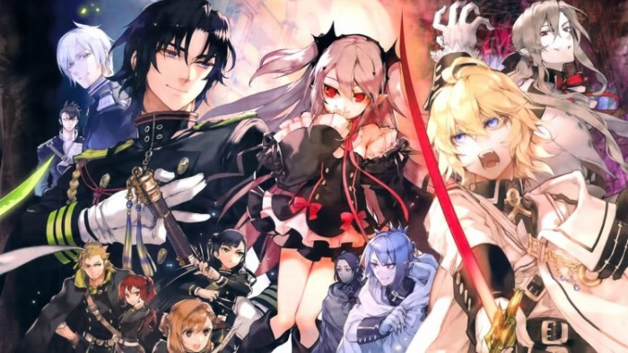 Owari No Seraph Wallpaper 700x394 Top 10 Fantasy Anime 2015 Best