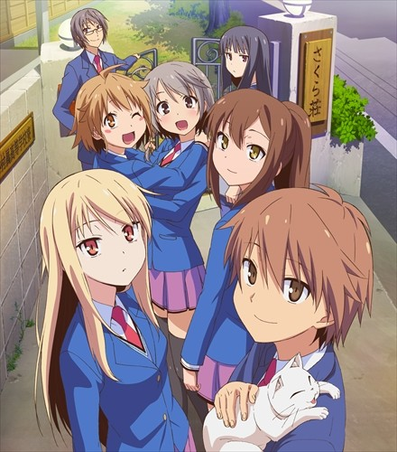 haganai-wallpaper Top 10 Friendship Anime [Best Recommendations]