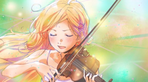 shigatsu-wa-kimi-no-uso-violin-500x278 These Are the Recent Anime Japan Can Boast About, According to National Poll