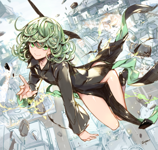 tatsumaki one punch man fan art