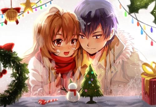 toradora-christmas couple