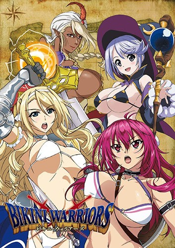 Bikini-Warriors-dvd-344x500 Top 5 Bikini Warriors Ecchi Scenes