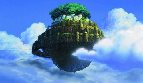 Castle in the Sky Laputa wallpaper