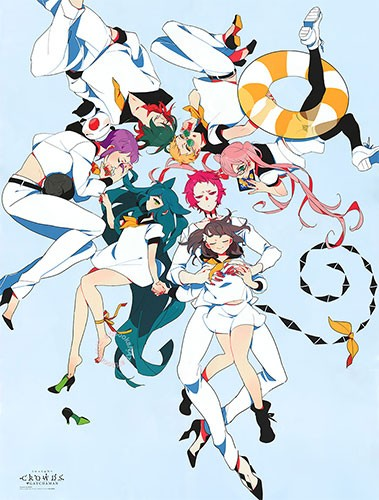Gatchaman-Crowds-wallpaper 10 Most Underrated Anime of 2015 [Best Recommendations]