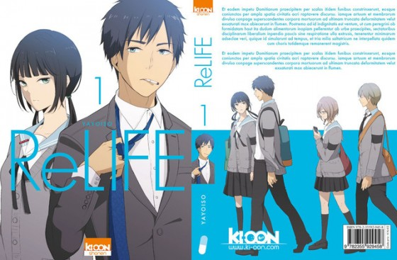 ReLIFE-cover-560x367 ReLIFE Manga to be Released in France!