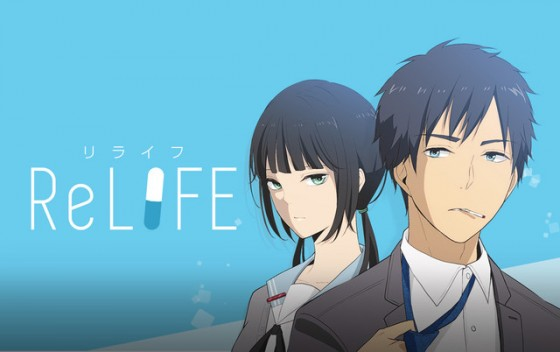 ReLIFE-main-visual-560x352 ReLIFE Gets Renewal, Air Date, Staff, Cast and PV Revealed!