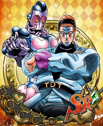 Terence D'Arby JoJo no Kimyou na Bouken Part 3 Stardust Crusaders wallpaper