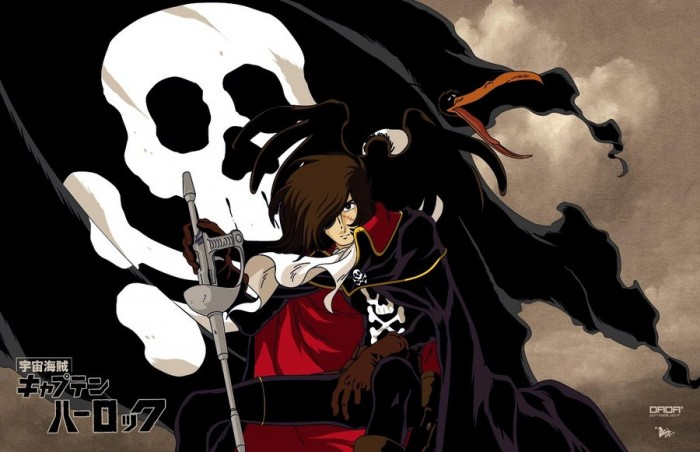 captain-harlock-wallpaper-700x452 Top 10 Old Anime (1960 - 1979) [Best Recommendations]