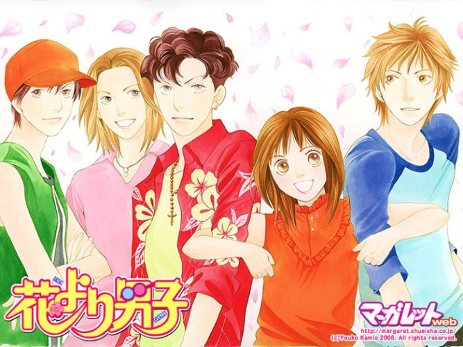 Hana-Yori-Dango-dvd-300x427 6 Anime Like Hana Yori Dango (Boys Over Flowers) [Recommendations]