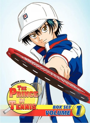 prince of tennis dvd