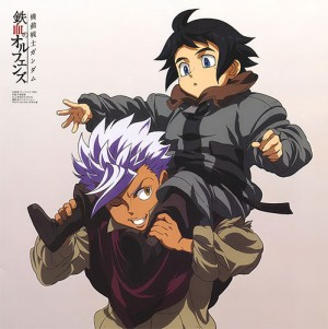 Yaoi/BL Moments in Gundam: Iron-Blooded Orphans [Best Scenes]