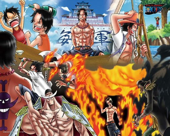wallpaper Portgas D. Ace One Piece