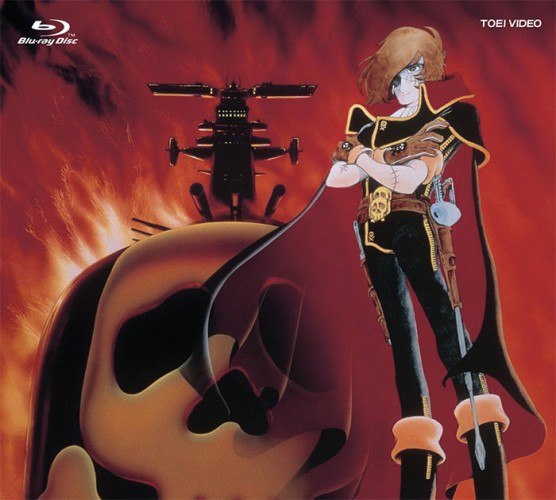 wallpaper Space Pirate Phantom Harlock