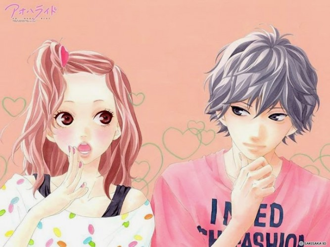 Ao Haru Ride wallpaper