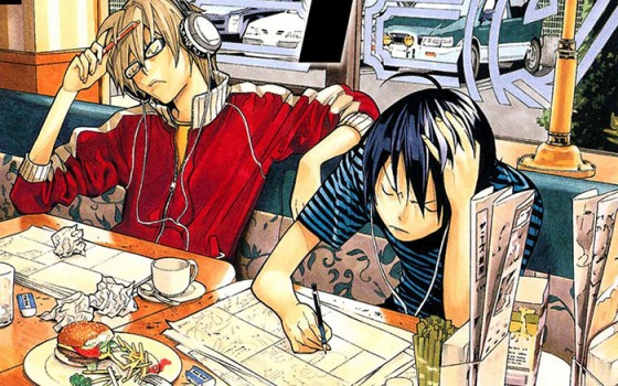 Bakuman-wallpaper-1-560x350 Top 10 Mangaka Who Debuted in their Teens [Japan Poll]