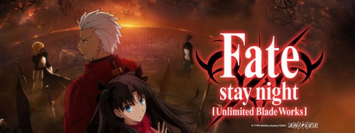 ET FateStay Night Unlimited Blade Works 1. Official v Unofficial