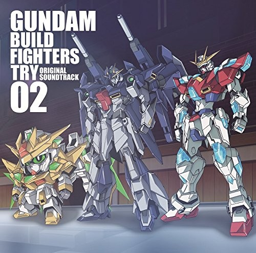 Gundam Build Fighters Soundtracks 2