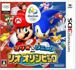 Mario Vs Sonic at the 2016 Rio Olympics 3DS game