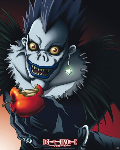 Ryuk death note DVD