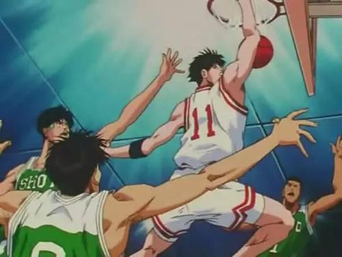 Shohoku vs Shoyo Slam Dunk captcha