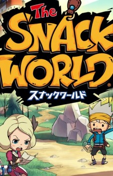 Snack world anime cover 2016
