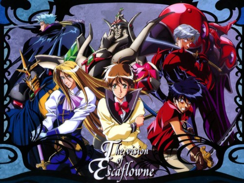 Vision of Escaflowne wallpaper