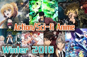 7 Action/Sci-fi Anime for Winter 2016 - New Technology? Cyborgs? Aliens? Something's Afoot!